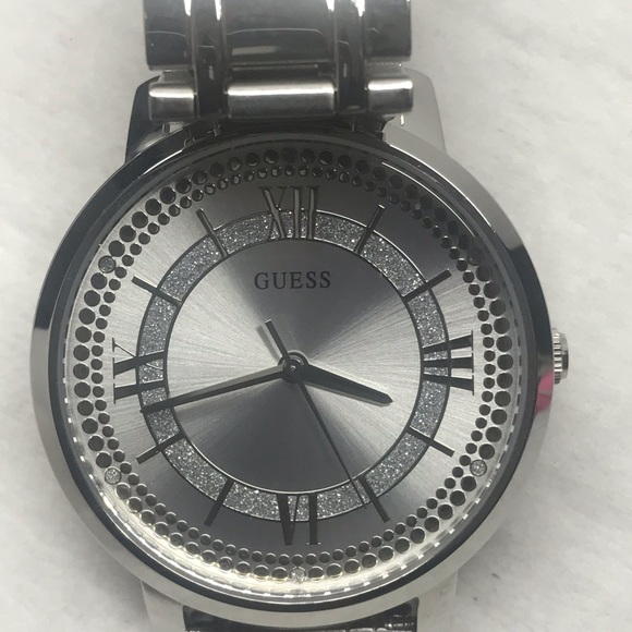New Guess Ladies Watch with Diamonds with Big Head